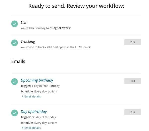 E-mail marketing automation flow - Lincelot