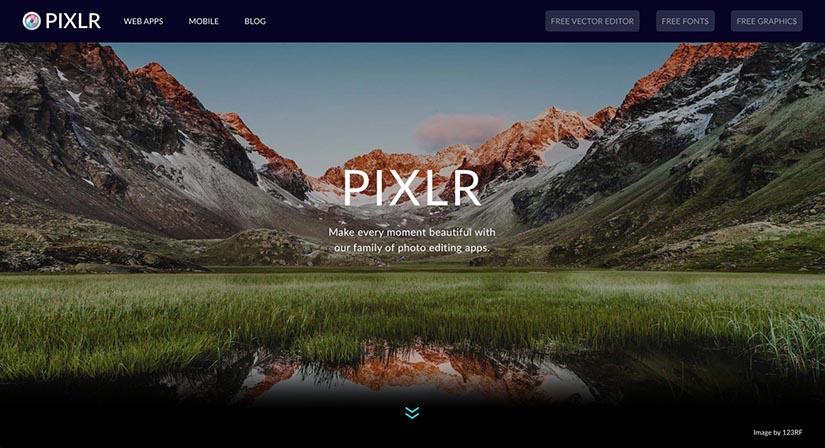 Online foto's bewerken - 5 gratis fototools - Pixlr - Lincelot
