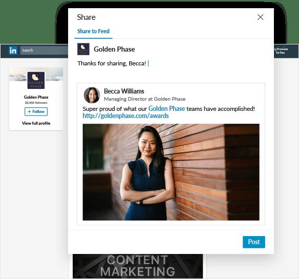 LinkedIn pages - meer opties voor engagement - Lincelot