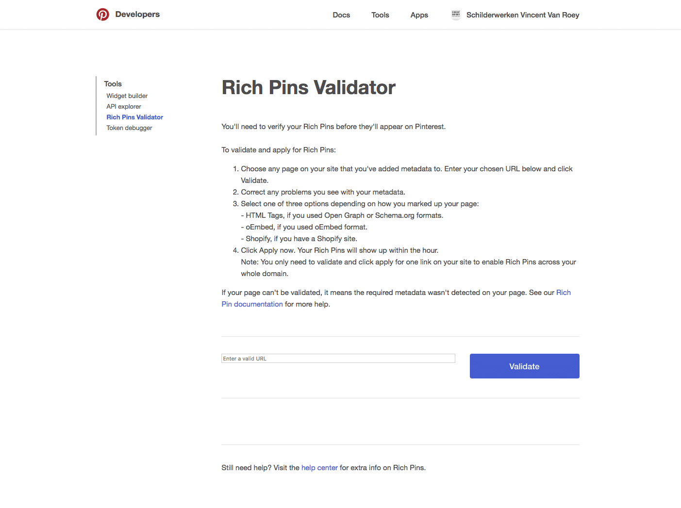 Pinterest Rich Pin Validator - Pinterest Rich Pins - Lincelot
